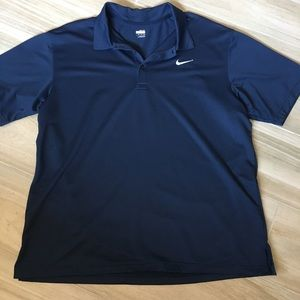 Nike Golf Men's Polo in Navy size XXL